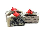 Charcoal Lime Bar Soap, charcoal soap, lime soap, Vegan soap, Palm free soap, natural soap, natural skin care