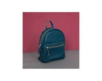 Jeans leather backpack - Sport