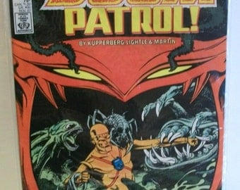 1987  Doom Patrol #2 (2nd Series)   Robotman On Cover Destroy The Doom Patrol  Very Good to Very Fine Vintage DC Comic Book