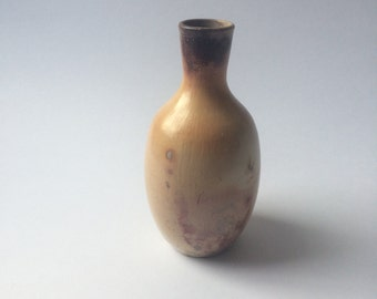Small Splayed-Neck Pit Fired Bottle