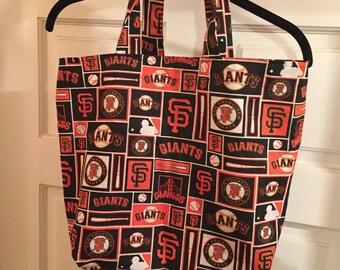 San Francisco Giants Reusable Grocery / Shopping Bag