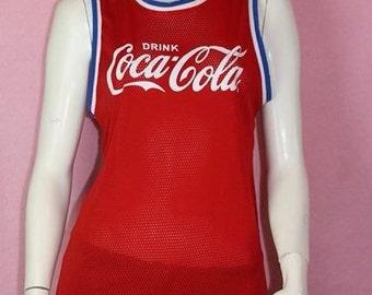 RETRO COCA-COLA Basketball Singlet