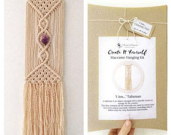 how to make macrame wall hanging for beginners