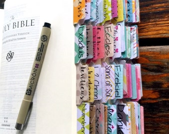 Bible Tabs w/Laminating Stickers