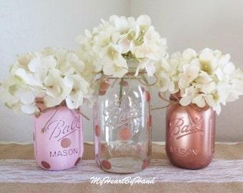 Rose Gold Baby Shower Decorations, Rose Gold Wedding Decorations, Girl Baby  Shower Decorations,