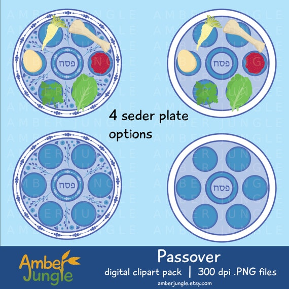 Passover Clipart: Passover Clip Art Seder Plate Pesach ...