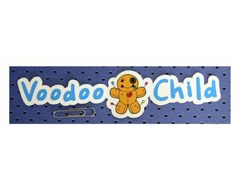 Voodoo Child Bumper Sticker