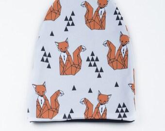 Fox Reversible Hat(Beanie)