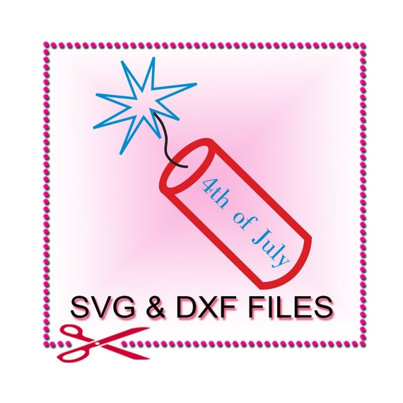 Download Firecracker SVG Files for Cut 4th of July Cricut Fireworks