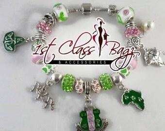 AKA Charm Bracelet  Alpha Kappa Alpha