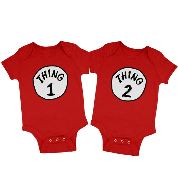 Shop for customizable Thing 1 Thing 2 clothing on Zazzle. Check out our t-shirts, polo shirts, hoodies, & more great items. Start browsing today!