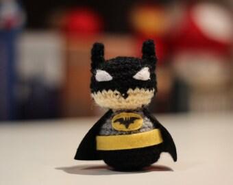 Batman Amigurumi - Dc Comics