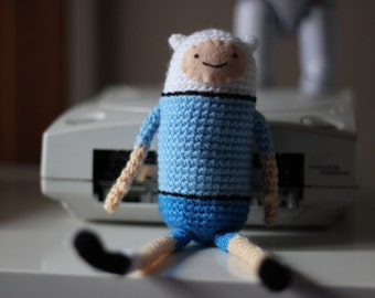 Finn the human Amigurumi - Adventure Times