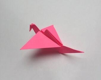 5 paper cranes