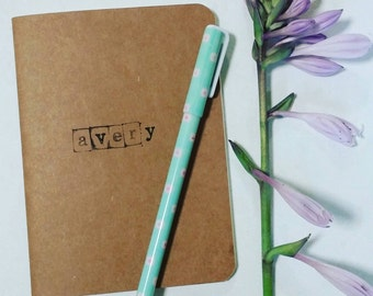 Perfect Personalized Notebook mini journal