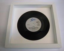 """Aretha Franklin & George Michael - """"I Knew You Were Waiting For Me"""" - Framed Record"""