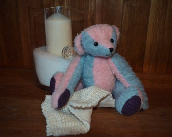 Poppy, OOAK mohair bear