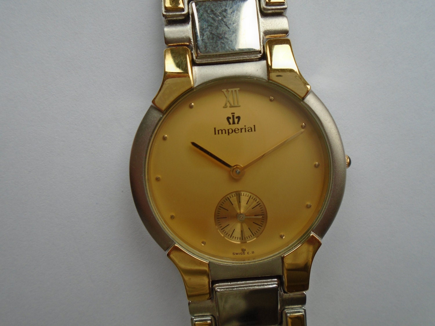 imperial unisex 22k gold plated swiss e b by bellb74