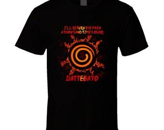 Naruto t-shirt. Naruto tshirt. Naruto tee for him or her. Naruto gift idea as a Naruto gift. A great Naruto t shirt