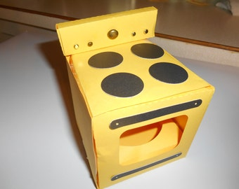 Cupcake Stove/Oven Holder any color combo