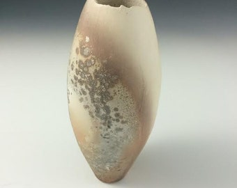 READY TO SHIP! Pottery vase, ceramic vessel, raku vase, home decor, decorative gift.