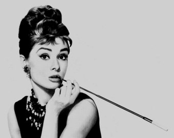 Audrey Hepburn photo print poster Pop art print poster Breakfast at Tiffany photograph Andy Warhol Poster cool poster icon movie star *