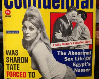 Confidential Magazine   June 1968