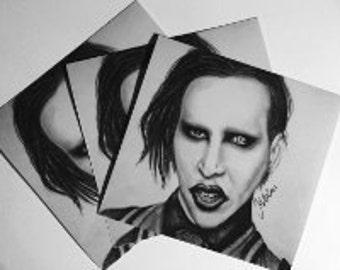 Marilyn Manson PRINT