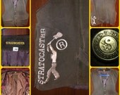 Reserved For Ylonda !Stratocaster vest in suede, vest 'leather original !!!! Jimi Hendrix experience