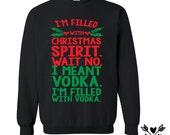 Funny ugly christmas sweater (sweatshirt) completely CUSTOMIZABLE