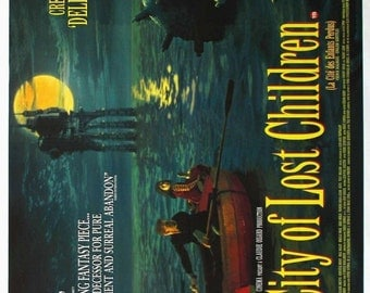 The CITY Of LOST CHILDREN Movie Poster 1995 Ron Perlman