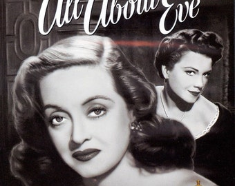 ALL ABOUT EVE Movie Poster 1950 Hollywood Classic Bette Davis