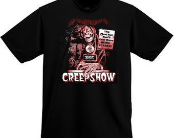 CREEPSHOW 'The Most Fun You'll Ever Have Being Scared 1982 Horror SHIRT