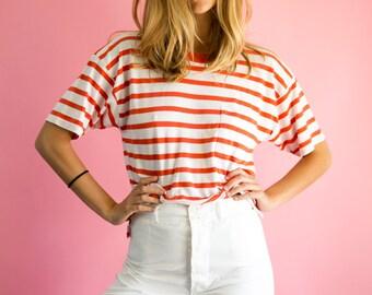 60's Basic Stripe Tee