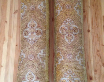 Handmade Pillows, Made From Antique Priest Vestments