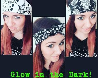 Glow in the Dark Skull Headbands!
