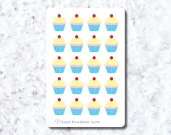 Yummu Cupcake Stickers
