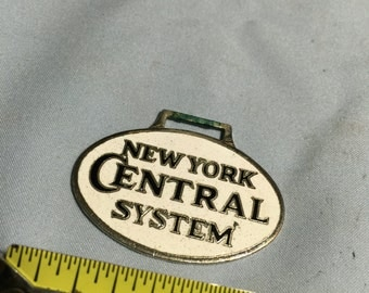 New York Central Watch Fob