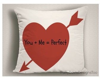 Valentine Gifts, Love Pillows, Heart Pillows, Valentine Gifts, Wedding Pillows, Throw Pillows, Heart Decor, Decorative Pillows