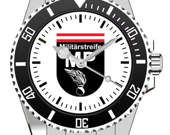 Military patrol MP of the federal armed forces watch 1058 KIESENBERG®