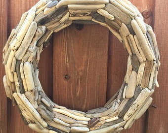 "20"" Driftwood Wreath - Northern California Drift wood"