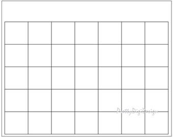 Printable One page Calendar 2018 Ready to print calendar