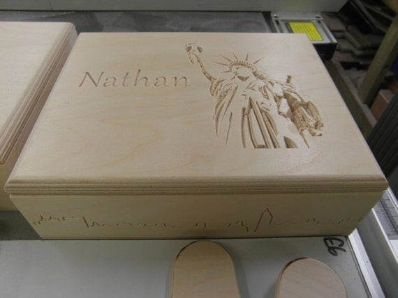 Box - Personalised with Name and a Design
