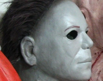 White Mask Psycho Myers H20 Limited Edition Latex Mask Halloween Horror Scary!!