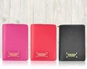 A6/personal planner binder with zipper in black, red and pink || Kikki K Filofax Agenda Dokibook Lovedoki Kate Spade