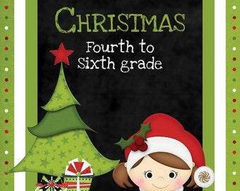 Christmas Games and Activities for Fourth, Fifth and Sixth grades
