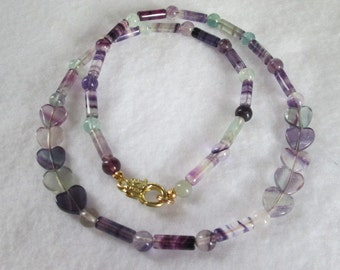 The Rainbow Fluorite Necklace