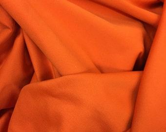 Burnt Orange colored 4 way stretch Spandex