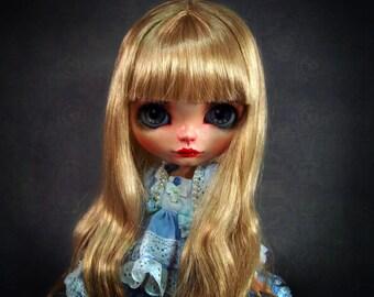 custom blythe doll gold sister by SiiS