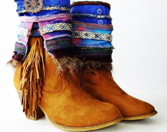 Boho boot/sandal cover  SOLD OUT but i can make another one similar. Just send me a message